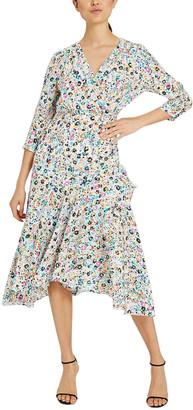 Milly Birdie Silk Dress