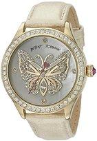 Betsey Johnson Women's BJ00517-11 Analog Display Quartz Gold Watch