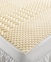 Home Design 5 Zone Memory Foam Queen Mattress Topper