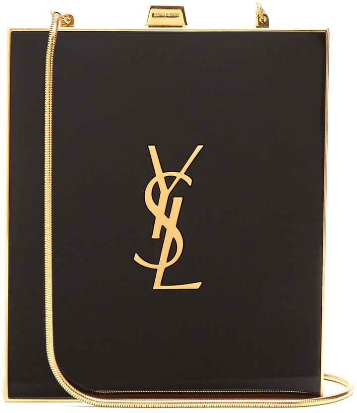 Saint Laurent Tuxedo box clutch