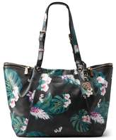 Tommy Bahama St. Lucia Printed Leather Tote