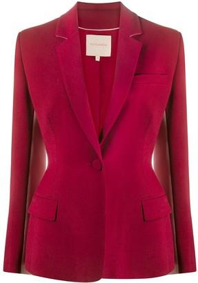 Roksanda Contrast Panel Suit Jacket