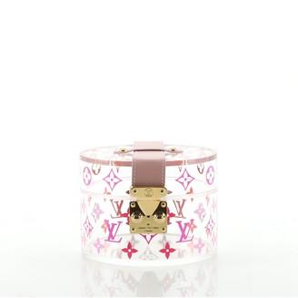 Louis Vuitton Box Scott Trunk Monogram Plexiglass
