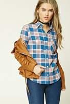 Forever 21 Tartan Plaid Flannel Shirt