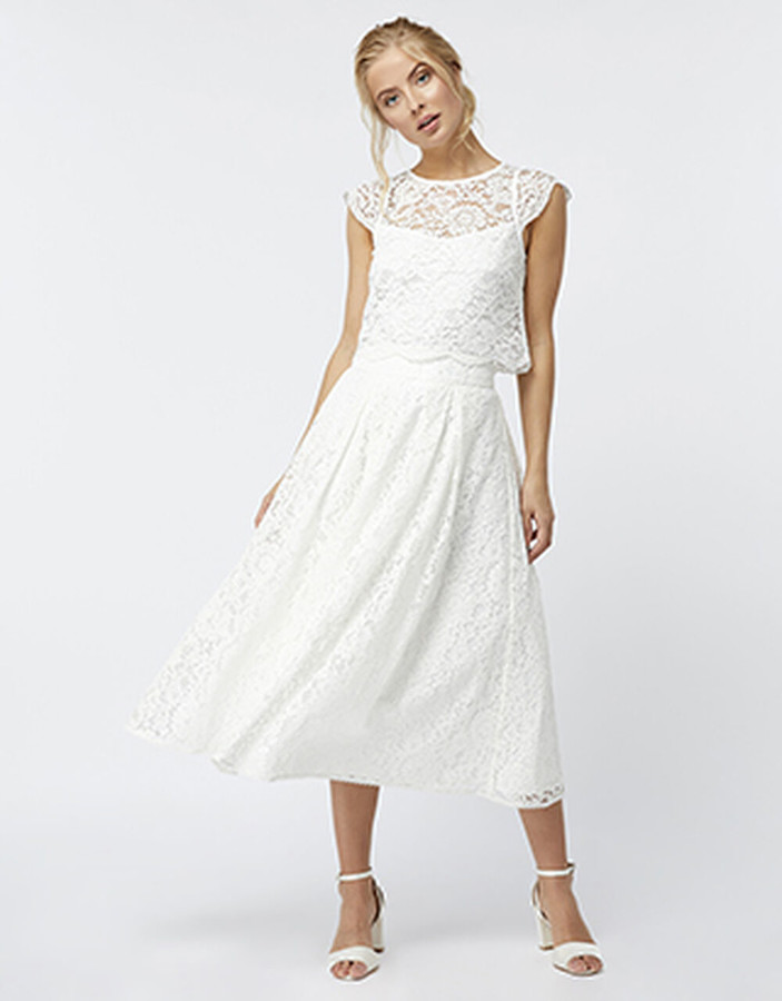 Under Armour Delilah Lace Skirt Ivory
