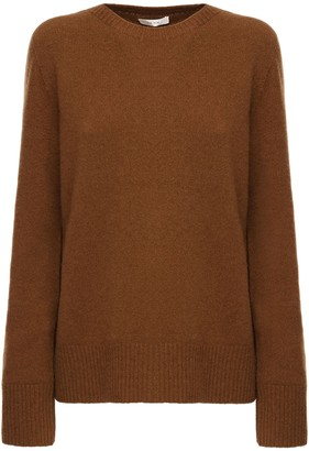 The Row Knit Wool & Cashmere Crewneck Sweater