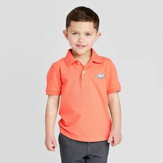 Cat & Jack Toddler Boys' Polo Shirt - Cat & JackTM Coral