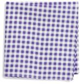 Nordstrom Boy's Check Cotton Pocket Square