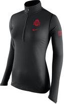 Nike Women's Ohio State Buckeyes Tailgate Element Half-Zip Shirt