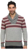 Nautica 3 Gauge Knit Shawl Pullover Sweater