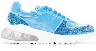 Philipp Plein Runner studded 20mm low-top sneakers