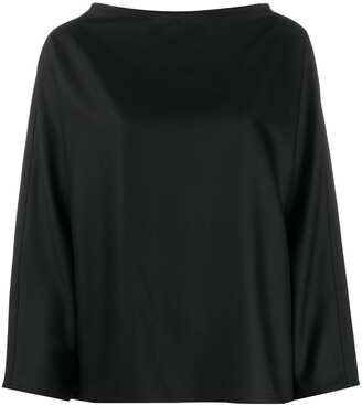 Sofie D'hoore Boat Neck Long-Sleeve Shirt