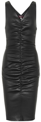 STOULS Lala leather dress