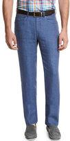 Peter Millar Linen Five-Pocket Pants
