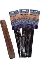 "MCM DUGOUT Incense 3-pack - Includes DC Crafts 12"" Wood Incense Burner"