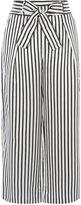 Karen Millen Striped Trouser - Black & White
