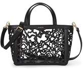 Tous Capazo Pequeño Kaos Shock, Women's Shoulder Bag, Negro (), 14x21x28 cm (W x H L)
