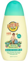 Green Baby Earth's Best by Jason Mineral Based Sunscreen Lotion - SPF 30 - Fragrance Free - 4 oz