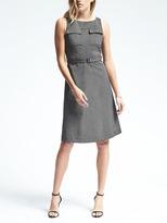 Banana Republic Sleeveless Belted Pocket Dress