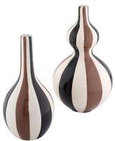 Jonathan Adler Striped Porcelain Vases