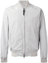 Woolrich zipped bomber jacket - men - Polyester/Polyamide/Cotton - S