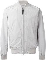 Woolrich zipped bomber jacket