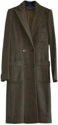 Ralph Lauren Khaki Wool Coat for Women