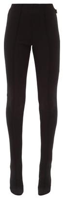 Balenciaga Dynasty Jersey Leggings - Black