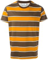Ami Alexandre Mattiussi stripe print T-shirt - men - Cotton - S