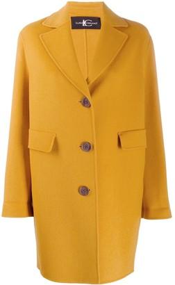 Luisa Cerano Classic Single-Breasted Coat
