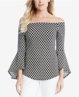 Karen Kane Off-The-Shoulder Bell-Sleeve Top