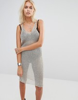 Glamorous Knitted Body-Conscious Dress