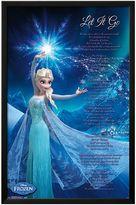 Art.com Disney's Frozen ''Let It Go'' Framed Wall Art by