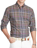 Polo Ralph Lauren Plaid Poplin Long-Sleeve Woven Shirt