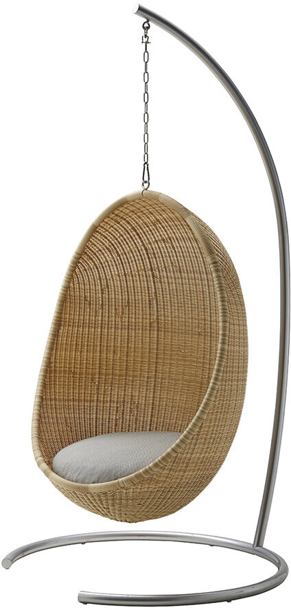 Thumbnail for your product : Sika Design Sika-Design - Hanging Outdoor Rattan Egg Chair - Natural