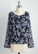 Clientele It Like It Is Floral Top in S