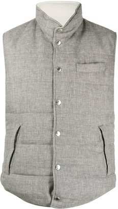 Brunello Cucinelli Knitted Gilet Jacket