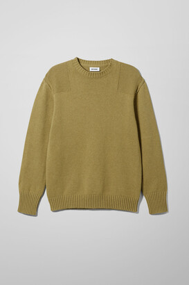 Weekday Jim Utility Sweater - Green