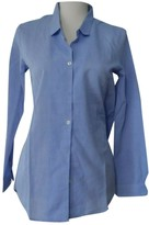 The Kooples Blue Cotton Top for Women