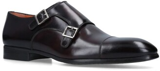 Santoni Simon Double Monk Shoe