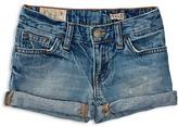 Ralph Lauren Girls' Weekender Jean Shorts - Sizes 2-6X