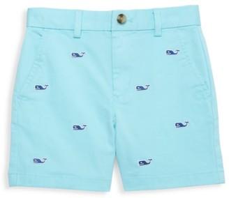 Vineyard Vines Little Boy's & Boy's Whale Embroidered Shorts