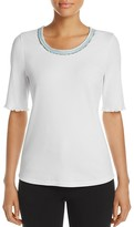 Basler Jewel Neck Tee