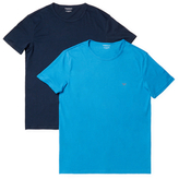 Emporio Armani Colored Basic Pure Cotton Tee Set (2 PK)