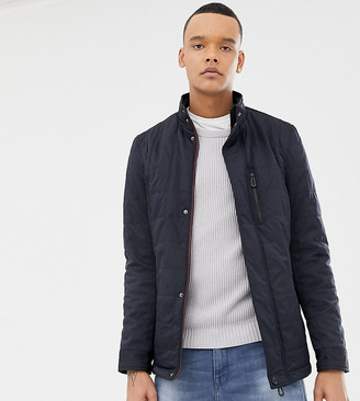 Ted Baker Tall quilted harrington in navy