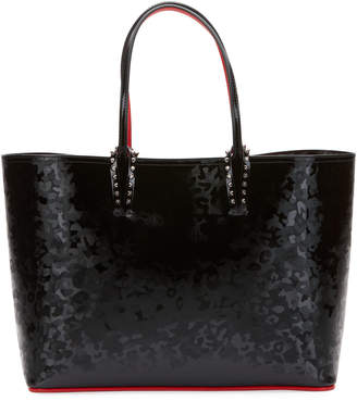 Christian Louboutin Exclusive Cabata Small Patent Panther