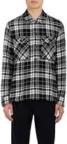 TOMORROWLAND MEN'S PLAID COTTON FLANNEL SHIRT