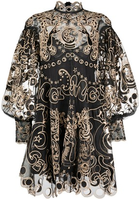 Zimmermann Ladybeetle Fortune tulle dress