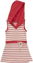 LAmade Kids Selene Dress (Toddler/Kid) - Apple Stripe-6x