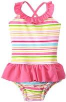 I Play Girls' Mix & Match One Piece Swimsuit w/Builtin Swim Diaper (6mos-3T) - 8145760